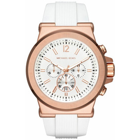790148223c7 Relógio Michael Kors Mk5464 White Rose Golden Novo!! - Joias e ...