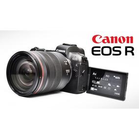 Câmera Canon Eos R Lente 24-105mm F4l Lançamento