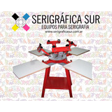 Calesita Textil O Pulpo Serigrafico 4x4 Mod Industrial Pesad