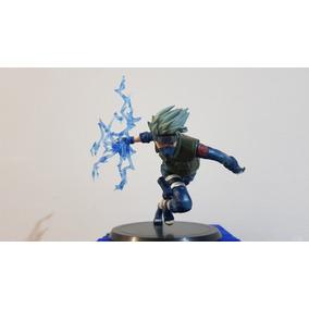 Action Figure Boneco Kakashi Ataque Chidori - Naruto