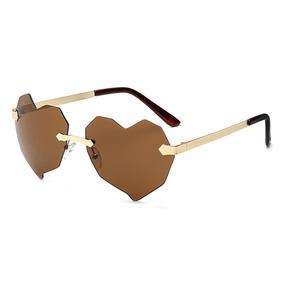 147201f1946ae Oculos De Coração Dourado Sol - Óculos no Mercado Livre Brasil