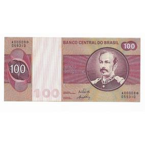 Cedula De 100 Cruzeiros - Rara - C145a - Fe