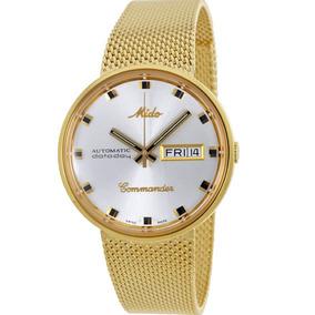 f15ede9855d Relogio Mido Automatico Dataday Commander - Relógios De Pulso no ...