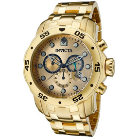 a3b8da63dcd Invicta 0074 Original Banhado Ouro 18k Envios 24 Horas - Relógios no ...