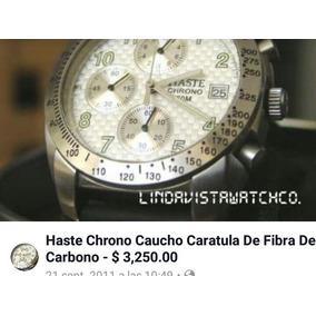 Reloj Haste Chrono