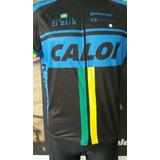 Camisa Ciclismo Caloi Brasil (preta)