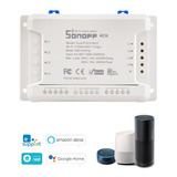 Sonoff 4ch R2 Itead 4 Canais Din Rail Montagem Wifi Switch