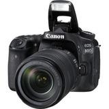 Camara Eos 80d Kit Con Lente Ef-s 18-135mm Is Usm 24.2mpx