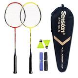 Juego De Raquetas De Badminton Senston 2 Jugadores, Que Incl