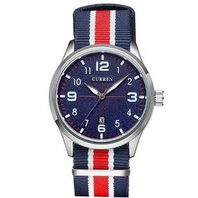 4a42ae3f6f0 Relogio Curren Azul - Relógios no Mercado Livre Brasil