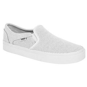 Padrisimos Tenis Casuales Vans Originales Color Blanco