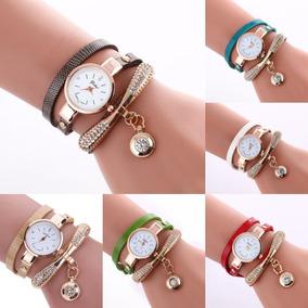 06acc10ac58e Lote 10 Relojes Pulsera Dije Mujer Moda Casual Envío Gratis