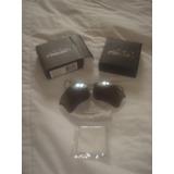 Cristales Oakleys Flak Jacket Xlj Polarizados Color Titanium