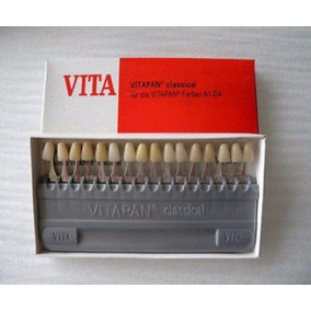 Escala De Cores Vita - Vitapan Clássica - Porcelana Resina