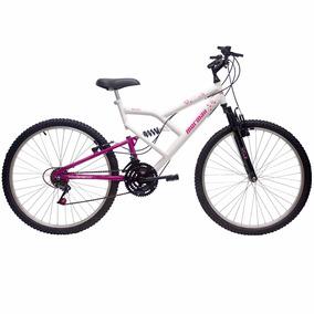 Bicicleta Aro 26 Full Fantasy Mormaii + Suspensão