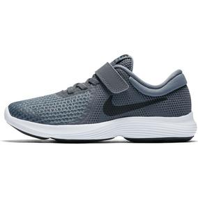 d1c7c6825f0 Tenis Infantil Nike Revolution 4 Psv Cinza 100% Original