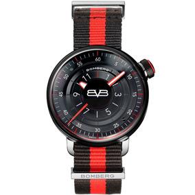 Bomberg Bb-01 Reloj De Bolsillo Acero Nato Y Piel Diego Vez