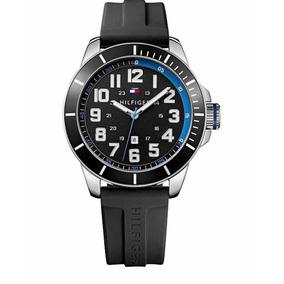 a488e420fd1 Relógio Tommy Hilfiger Silicone Preto - Relógios De Pulso no Mercado ...