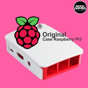 Case Oficial Raspberry Pi 3 Modelo B - Branca Pronta Entrega