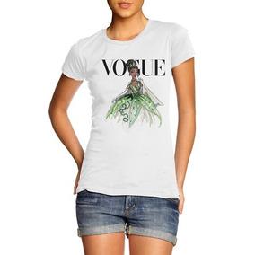 c7c9f35c8 Camiseta Vogue Princesas - Camisetas Manga Curta Feminino no Mercado ...