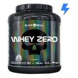 Whey Zero 2kg - Black Skull - Whey Protein 100% Isolado