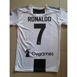 Franela Juventus Cristiano Ronaldo Fútbol Adulto