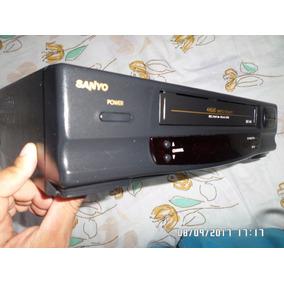 Video Cassete Sanyo 4 Cabeças Super Conservado Anos 90