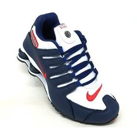 6a2a2495564 Tenis Nike Shox R4 Original - Nike Azul marinho no Mercado Livre Brasil