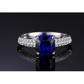 Anel De Pedra Azul Royal - Joias e Relógios no Mercado Livre Brasil 81c4990305