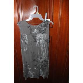 = Roupa Lote 557 Mulher Camisa Cinza Mesclada M Com Botáo 87