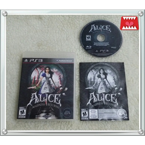 Jogo Alice Madness Returns Playstation 3 Ps3 Mídia Física