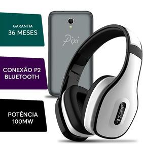 6776bbbb58 Fone Ouvido Headphone Pulse Bluetooth Celular Alcatel Pixi