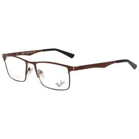 f2ce3de8f2a2a Armação Para Grau Ray Ban Rb9029 Em Acetato Marrom Tigrado - Óculos ...