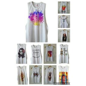 ea2cb893b1f61 Regata Cavada Lisa Atacado Feminina - Camisetas e Blusas no Mercado ...