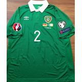 Camisa Irlanda Coleman  2 Vs. Alemanha Eliminatórias Euro 0a4c57fa4b4e4