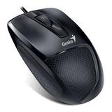 Mouse Genius Dx-150x 1600 Dpi Ergonomico - Negro