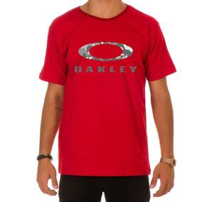 Camiseta Oakley Preta E Vermelha Camisetas Masculino - Camisetas e ... 800e2d82e3