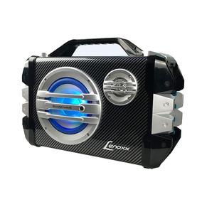 Caixa De Som Portátil Lenoxx Multiuso Bluetooth Rádio Fm U