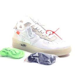 0c98b35d958 Tênis Nike Air Force 1 Low Off-white Original Masculino New
