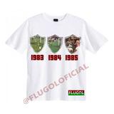 Camisa Tricampeonato Carioca 83-84-85 - Fluminense 76ed910bf1280
