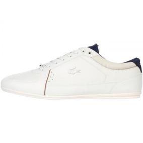 Tenis Zapato Lacoste Evara 318 2 Blanco/azul 100%original