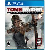 Tomb Raider Definitive Edition - Ps4 - Digital - Manvicio