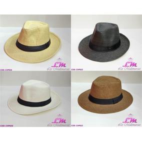 3ffd0a8c33467 Chapeu Panama Preto Aba Grande - Chapéus para Masculino no Mercado ...