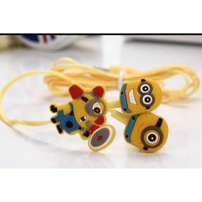 Fone De Ouvido Minions - Plug P2 - Frete R$8