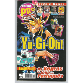 Revista Anime Pró Magazine Nº1 Yu-gi-oh!