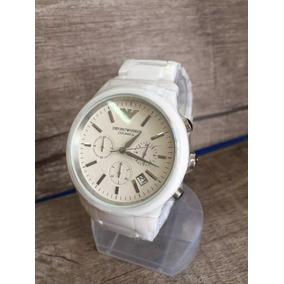 dd2f019acef Relogio Emporio Armani Ar1403 Cermica - Relógios De Pulso no Mercado ...