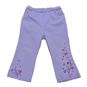 Pantalón Niña Bebé Lila En Oferta! Aprovecha! #36