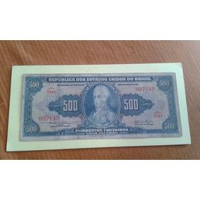 Cédula Antiga - 500 Cruzeiros