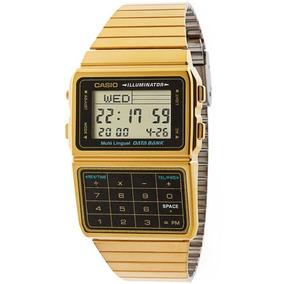 df063ec14852 Reloj Casio Dorado Calculadora - Relojes en Mercado Libre México