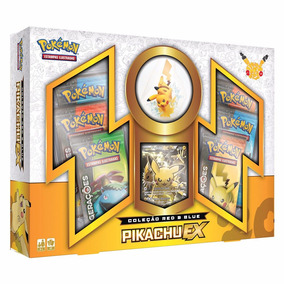 Box Pikachu-ex Com Miniatura - Gerações - Original - Selado